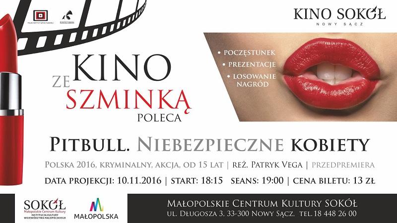 10 listopada kino ze szminka