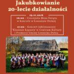 [Łososina – Dolna]: Koncert Jubileuszowy Zespołu Regionalnego Jakubkowianie