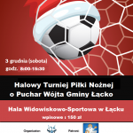 [Łącko]: Halowy Turniej Piłki Nożnej