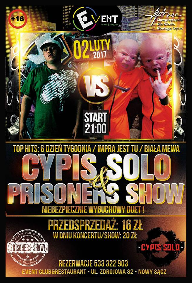CYPIS PRISONERS SHOW – Club Event