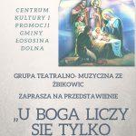[Łososina Dolna]: U Boga liczy się tylko miłość
