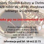 [Librantowa]: Nauka gry na instrumentach dętych