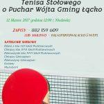 [Łącko]: Turniej Tenisa Stołowego