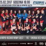 MKS Olimpia-Beskid Nowy Sącz – Energa AZS Koszalin
