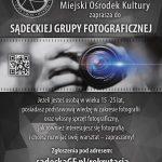 Sądecka Grupa Fotograficzna zaprasza!