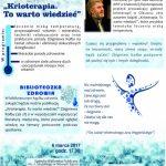 Żyj zdrowo – krioterapia