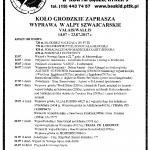 Alpy – 14 – 23 lipca 2017 r.