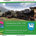 Historycznym pociągiem do Piwnicznej