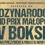 Międzynarodowe Grand Prix Małopolski w Boksie