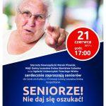 [Łososina Dolna]: Seniorze nie daj się oszukać!