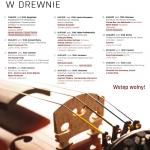 Muzyka Zaklęta w Drewnie 2017 – XI Edycja Festiwalu na Szlaku Architektury Drewnianej w Małopolsce