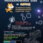[Krynica – Zdrój]: Wakacyjny kurs programowania gier
