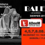 Balet od podstaw w Centrum Tańca ADeeM