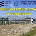 [Gródek nad Dunajcem]: Siatkówka plażowa – Puchar Lemonu