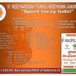 VI Międzynarodowy Turniej Koszykówki Juniorek