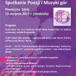 [Piwniczna Zdrój]: Wrzosowisko XIX Spotkanie Poezji i Muzyki gór