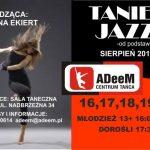 Taniec Jazz od podstaw z Martyną Ekiert w ADeeM