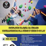 Bezpłatne zajęcia dla dzieci na ściance wspinaczkowej  – zapisy