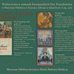 [Krynica – Zdrój]: Europejskie Dni Dziedzictwa – Muzeum Nikifora