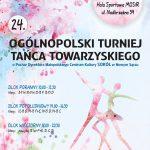24. Ogólnopolski Turniej Tańca Towarzyskiego o Puchar Dyrektora MCK SOKÓŁ