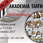Akademia Siatkówki – rekrutacja