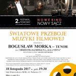 Koncert Muzyki Filmowej w wykonaniu Bogusława Morki