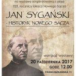 Jan Sygański – historyk Nowego Sącza