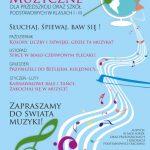 Audycje muzyczne dla szkół podstawowych oraz przedszkoli