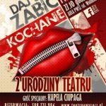 Urodzinowy spektakl w Teatrze Nowym – DAJ SIĘ ZABIĆ, KOCHANIE