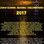 Zakończenie Sezonu Żeglarskiego 2017
