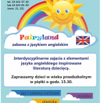 Fairyland – zabawa z językiem angielskim