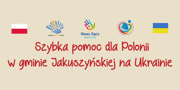 """Rozpoczynamy akcję """"Szybka pomoc dla Polonii""""."""