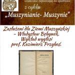 [Muszyna]: Muszynianie – Muszynie: Zasłużeni dla Ziemi Muszyńskiej