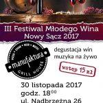 III Festiwal Młodego Wina Nowy Sącz 2017