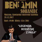 [Muszyna]: Koncert w Szarotce: BeniaminSobaniec