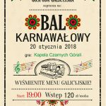 Weekend z Karnawałowym Galicyjskim Balem