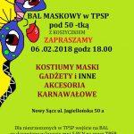 Bal maskowy w TPSP