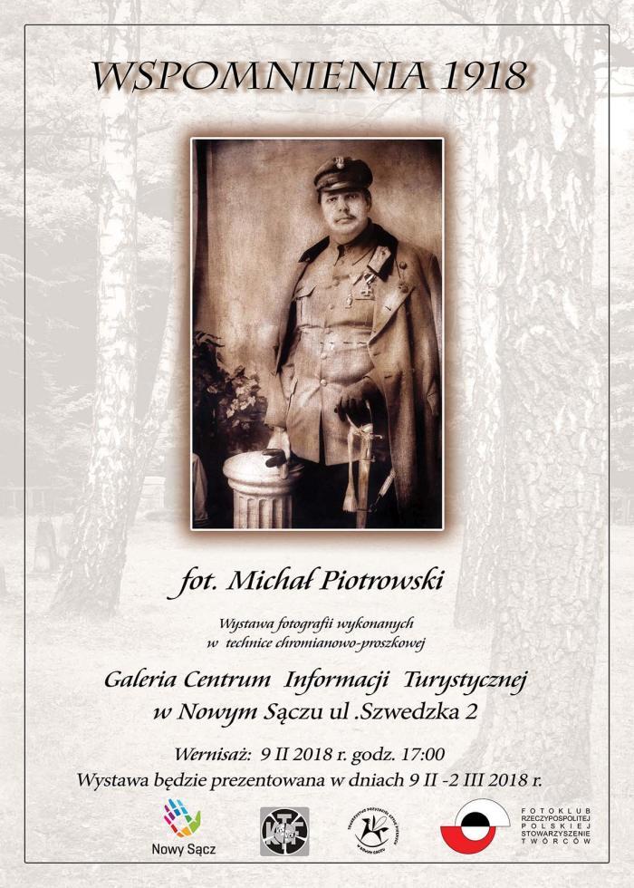 Wspomnienia 1918 – plakat