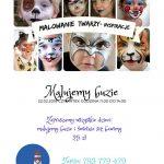 [Łącko]: Malowanie twarzy – zajęcia dla dzieci