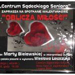 Oblicza Miłości – spotkanie Walentynkowe w Centrum Sądeckiego Seniora