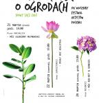 XIV Wiosenny Festiwal Artystów Piosenki PAMIĘTAJCIE O OGRODACH
