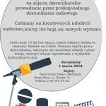 Pałac Młodzieży zaprasza na warsztaty dziennikarskie