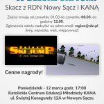 II Sądeckie Mistrzostwa w Delux SKI Jamp – skacz z RDN Nowy Sącz i KANĄ