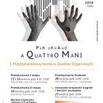 I Międzynarodowy Konkurs Duetów Organowych PER ORGANO A QUATTRO MANI