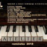 Jazz Club Atelier zaprasza na koncerty