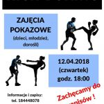 [Łososina Dolna]: Zajęcia pokazowe Kick – Boxing