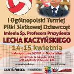 I Ogólnopolski Turniej Piłki Siatkowej Dziewcząt