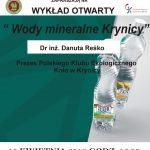 [Krynica – Zdrój]: Wody mineralne Krynicy