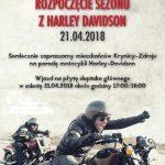 [Krynica – Zdrój]: Rozpoczęcie Sezonu Motocyklowego z Harley Davidson