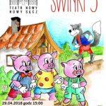 Świnki Trzy – Teatr Nowy zaprasza najmłodszych